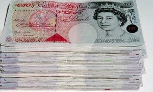 4 - £50 Notes.
